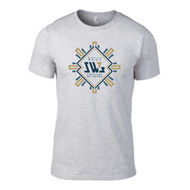 SW7 Large Graphic Logo 2 Grey T-shirt