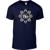 SW7 Large Graphic Logo 2 Navy T-shirt