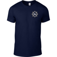 SW7 Small Graphic Logo 2 Navy T-shirt