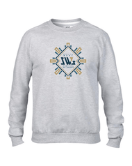 SW7 Large Graphic Logo 2 Grey Sweatshirt