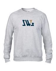 SW7 Large Graphic Logo  Grey Sweatshirt
