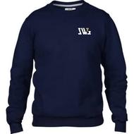 SW7 Small Graphic Logo Navy Sweatshirt