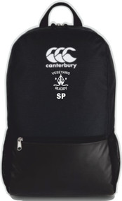 Veseyans Rugby Black CCC Medium Backpack