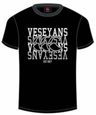 Veseyans Rugby CCC Black  Club T-Shirt
