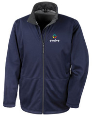 Evolve Softshell Navy Jacket