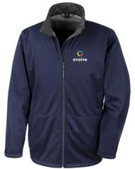 Evolve Softshell Navy Jacket