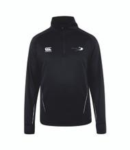 Stratford Upon Avon College Sport Black ¼ Zip Midlayer