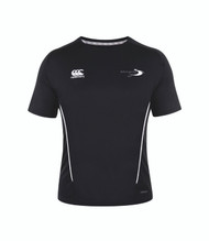 Stratford Upon Avon College Sport Black Team Dry T-Shirt - (Ladies)
