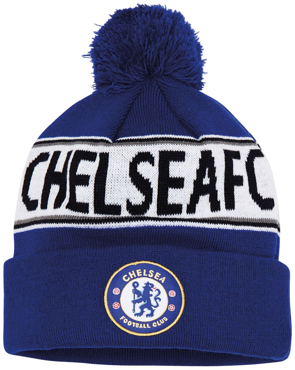 Adult Chelsea FC Text Beanie - Speed One Sports 49af1403fb46