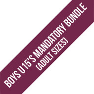 Northants Boys U15'S Team Adult Mandatory Bundle