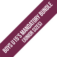 Northants Boys U15'S Team Junior Mandatory Bundle
