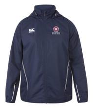 Northants Boys Junior Navy Team Full Zip Rain Jacket