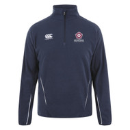 Northants Disability Squad Adult Navy 1/4 Zip Mirco Fleece