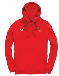Harborne Hockey Club Adult Red Hoodie