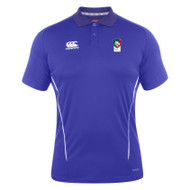 Leicester Tigers BMC Canterbury Team Royal Dry Polo