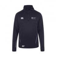Anglia Ruskin Sports Science 1/4 Zip Midlayer Navy