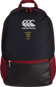 Willenhall RUFC Black CCC Medium Backpack