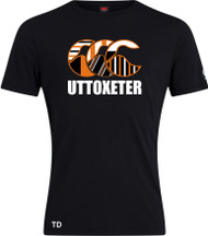 Uttoxeter Black CCC Graphic T-Shirt