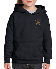 Drybrook Girls Rugby Black Junior Hoody