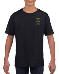 Drybrook Girls Rugby Black Junior T-Shirt