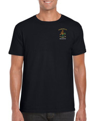 Drybrook Girls Rugby Black Adult T-Shirt