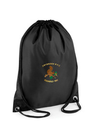 Drybrook Junior Rugby Black Gym Sack