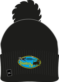 Stunts 7's Black Bobble Hat