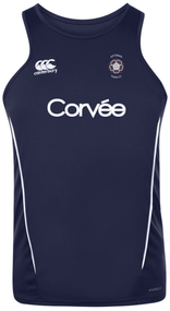 Kettering Town CC Adult Squad Navy Team Dry Singlet