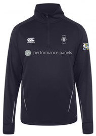 Kettering Town CC Junior Squad Adult Navy Team ¼ Zip Midlayer