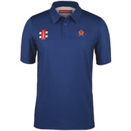 Harborne Cricket Adult Navy Pro Performance Polo
