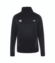 Stratford Upon Avon College Public Services Black Team 1/4 Zip Midlayer
