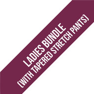 HOW College Sports Department Mandatory Ladies Bundle (with Tapered Stretch Pants)