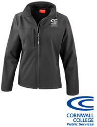 Cornwall College Public Services Softshell Jacket (Optional)