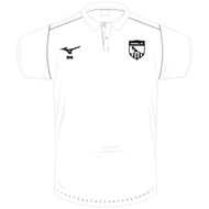 Orwell FC White Cotton Polo