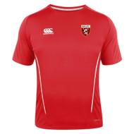 Spartans RFC Adult Red Team Dry Tee