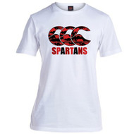 Spartans RFC Adult White Team Tee