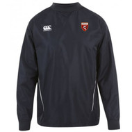 Spartans RFC Adult Black Team Contact Top