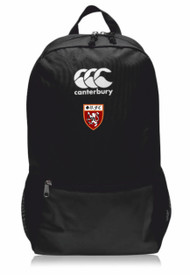 Spartans RFC Black Medium Backpack