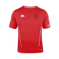 Pershore RFC CCC Adult Team Dry Tee in Red