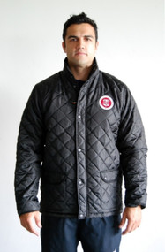 Birmingham Moseley Black Cheltenham Quilted Jacket