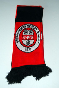 Birmingham Moseley Red and Black Club Scarf