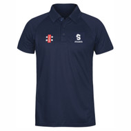 Northants Cricket Player Pathway Junior Navy Matrix Polo