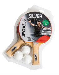 Fox TT Silver Two Player Table Tennis Set