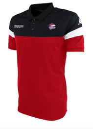 COB Rockets Junior Salto Polo in Black & Red