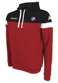 COB Rockets Junior Accio Hoodie in Black & Red
