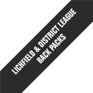Lichfield District Football League Back Packs
