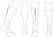 Bournville Hockey Away Socks