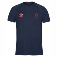 Northants Cricket Seniors Navy Matrix T-shirt