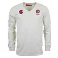 Northants Cricket Seniors Cream Velocity Sweater