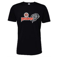 Moseley College Academy Black Bisons Performance T-Shirt